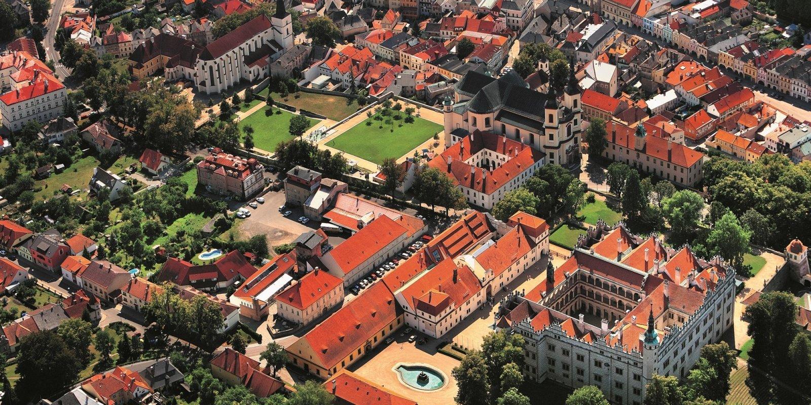 Litomyšl, letecký pohled  © Libor Sváček