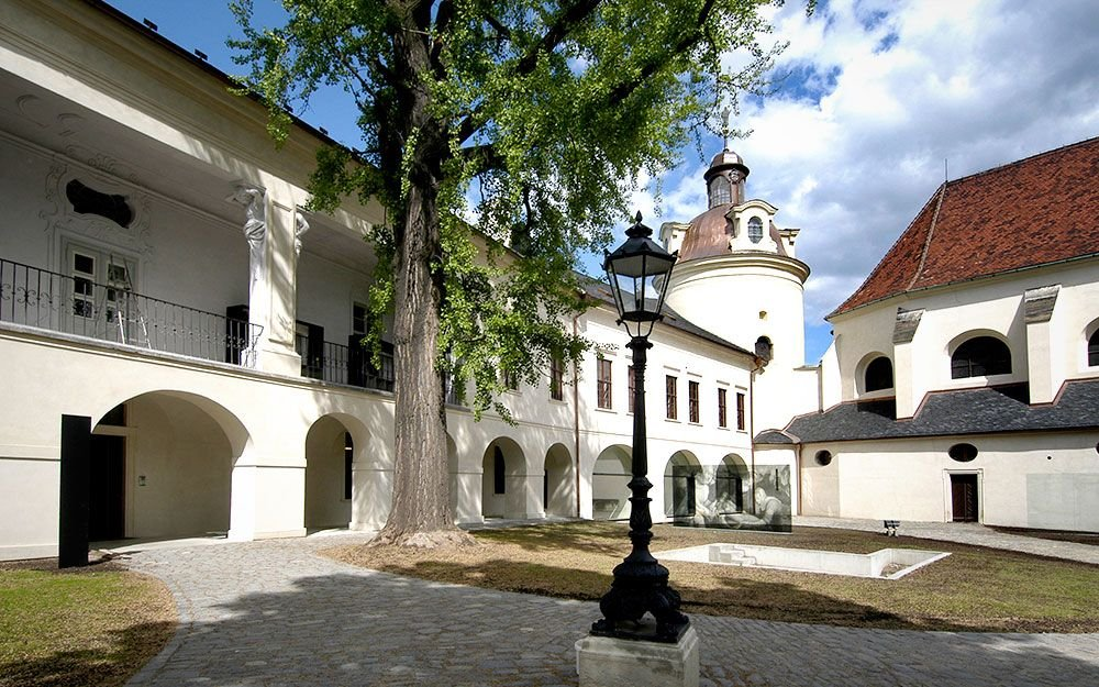 Od roku 1995 je Přemyslovský hrad národní kulturní památkou, jeho severní část je dnes sídlem velice ceněného Arcidiecézního muzea. | archiv města Olomouc, © Milena Valušková