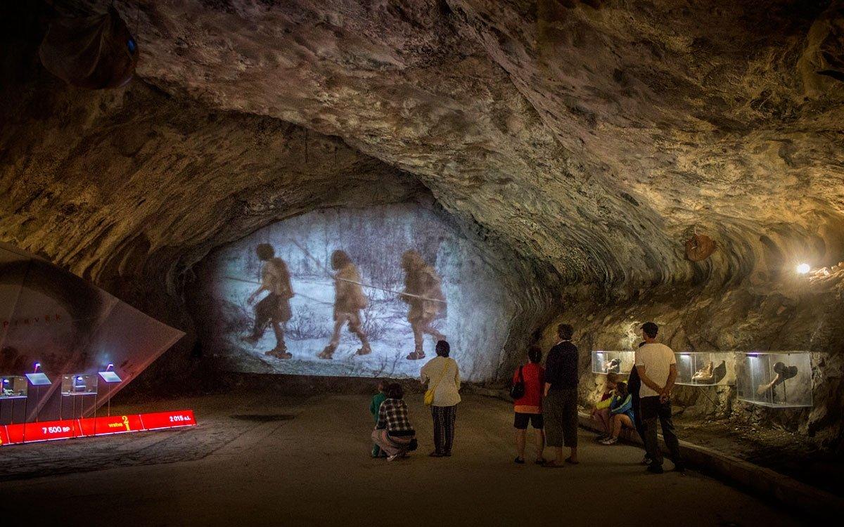 V severním okraji Moravského krasu se pod vesničkami Sloup a Šošůvka nacházejí jedny z nejúchvatnějších podzemních prostor v Česku. Jsou vyhlášené monumentální a několikaúrovňovou spletí dómů, chodeb, podzemních propastí a především bohatou krápníkovou výzdobou. Místo je ale také významnou archeologickou lokalitou. Jsou tu doloženy opakované pobyty pravěkých lovců a nalezeno zde bylo také několik vzácných kosterních pozůstatků ze čtvrtohor. | © Jaro Dufek