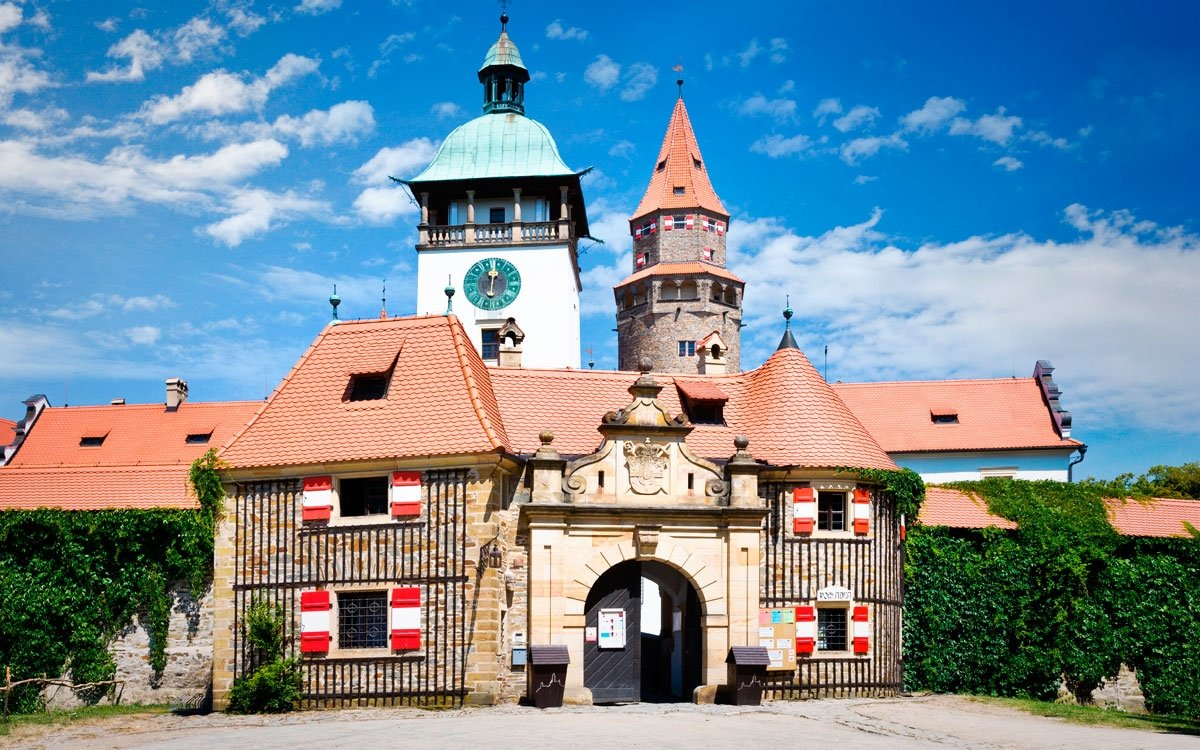 Na stavbu hradu dohlížel sám velmistr starobylého Řádu německých rytířů Evžen Habsburský.   © Dreamstime