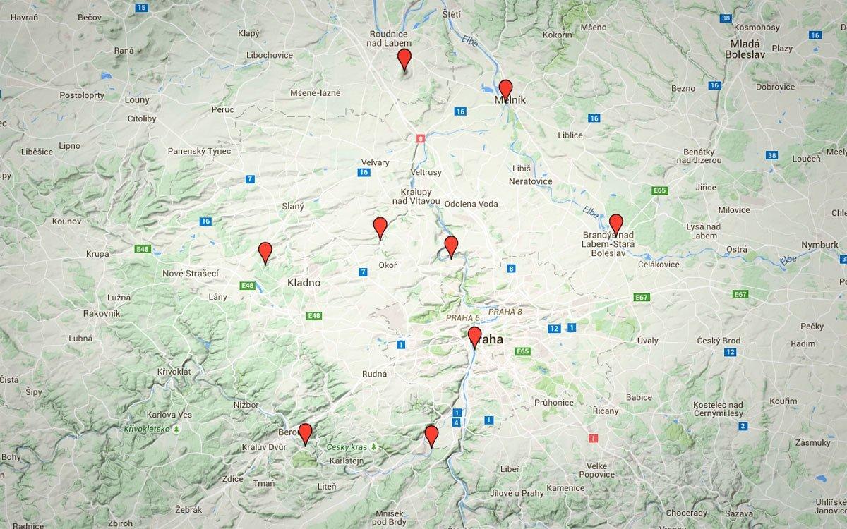 Kraj na západ od Prahy nabízí mnoho odkazů na nejstarší českou historii a místa spojená se životem prvních Přemyslovců.