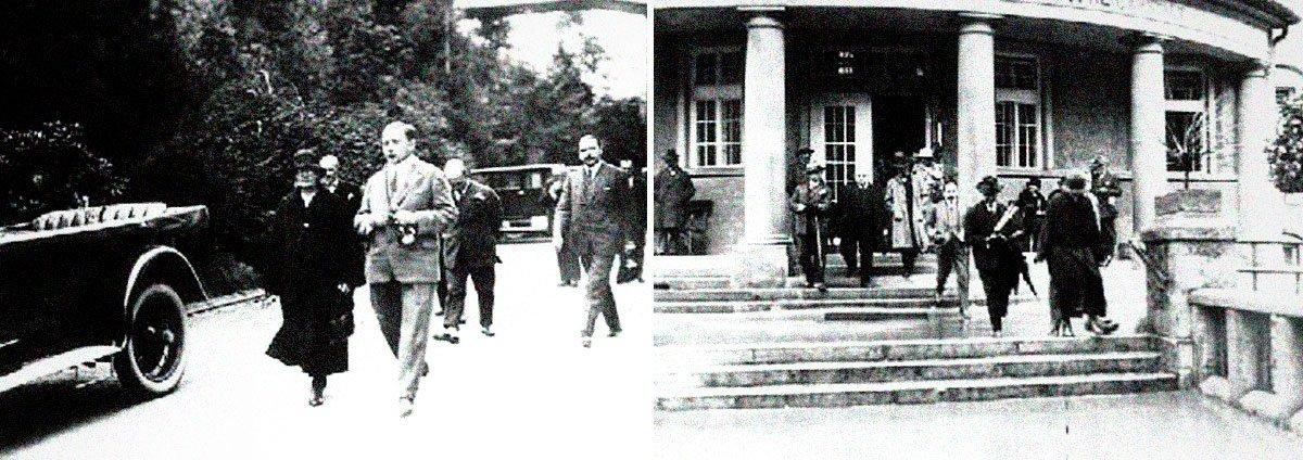 V roce 1925 navštívila své osudové město Marie Curie-Skłodowská. Právě v jáchymovském smolinci se jí společně s manželem podařilo objevit silně radioaktivní prvek radium. V roce 1910 jej pak Marie Curie-Skłodowská dokázala společně s poloniem izolovat z odpadového materiálu jáchymovské továrny na uranové barvy. Při své návštěvě sfárala do dolu Svornost, kde vyvěrají prameny radonové vody, prohlédla si lázně, zajímala se i o medicínské aplikace radia – a s některými nesouhlasila. Ostatně sama se potýkala se zdravotními obtížemi, vyvolanými účinky radioaktivního záření, a ty patrně vyvolaly i chorobu, na niž v roce 1934 zemřela. | SPA Info Jáchymov