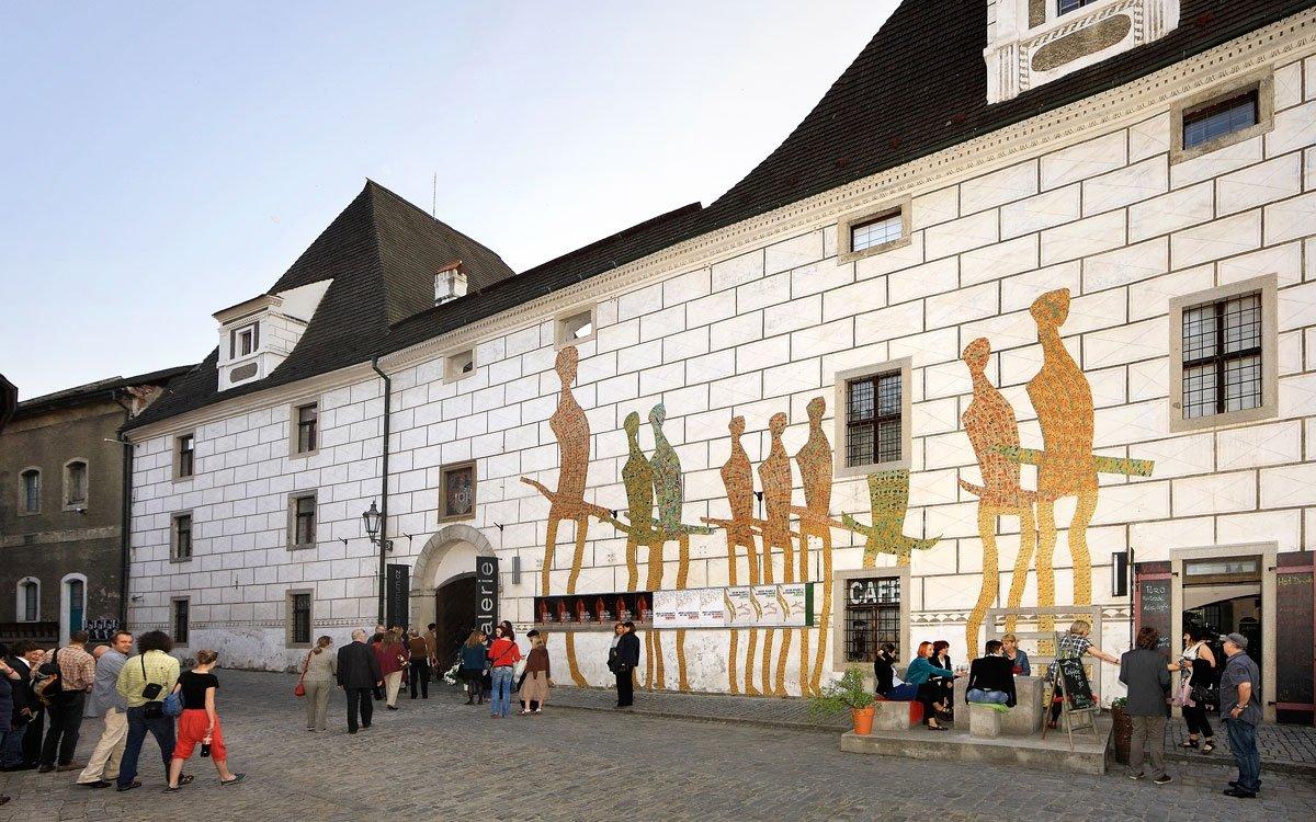 Egon Schiele Art Centrum nabízí na ploše více jak 4 000 metrů čtverečních klasické umění 20. století i současné umění české a mezinárodní. | archiv Egon Schiele Art Centrum