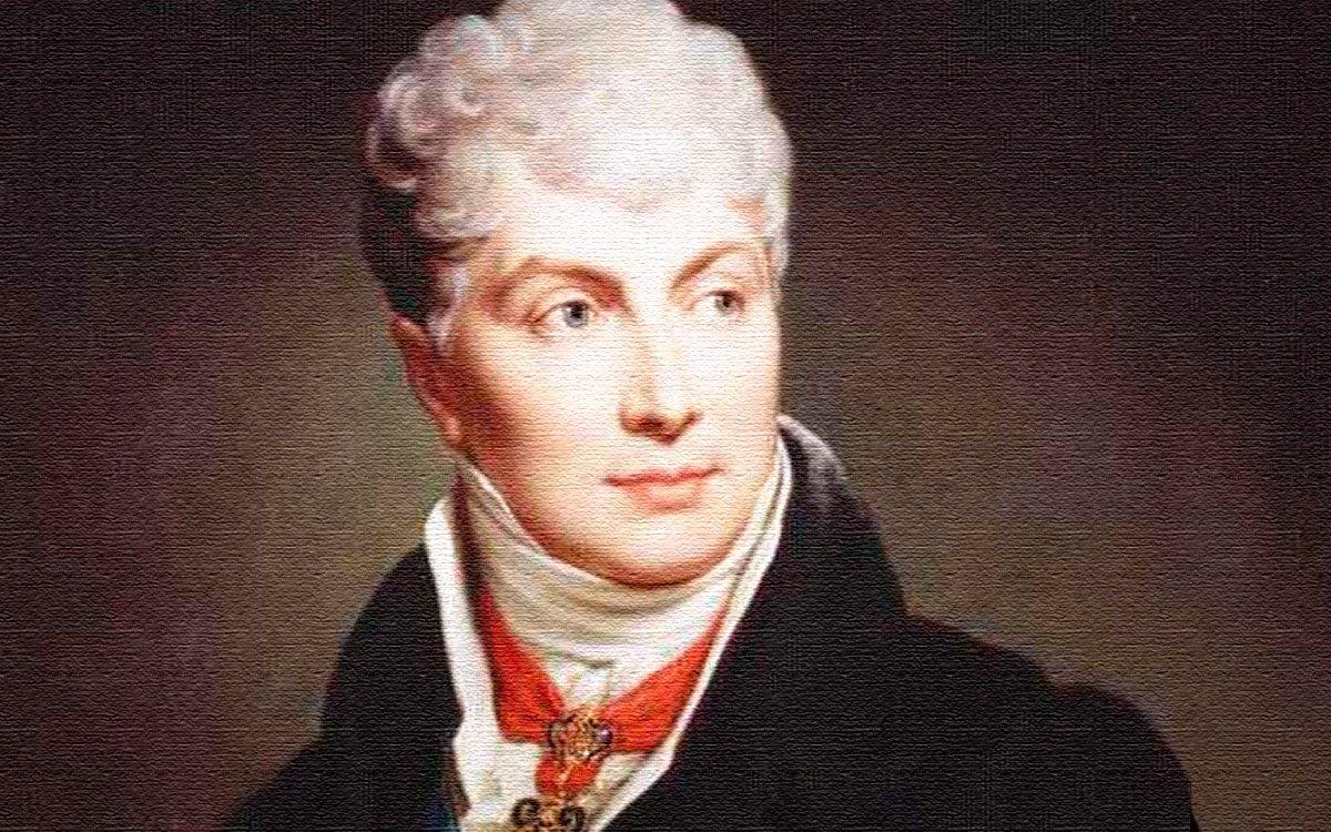 Klemens Wenzel Nepomuk Lothar kníže z Metternich-Winneburgu, vévoda z Portelly a hrabě z Kynžvartu. Rakouský šlechtic, politik a obratný diplomat, který sňatkem s bohatou moravskou šlechtičnou Eleonorou Kounicovou získal nemalé bohatství a zapojil se do vídeňského společenského života, což ho o pár let později dovedlo až na pozici rakouského ministra zahraničí.
