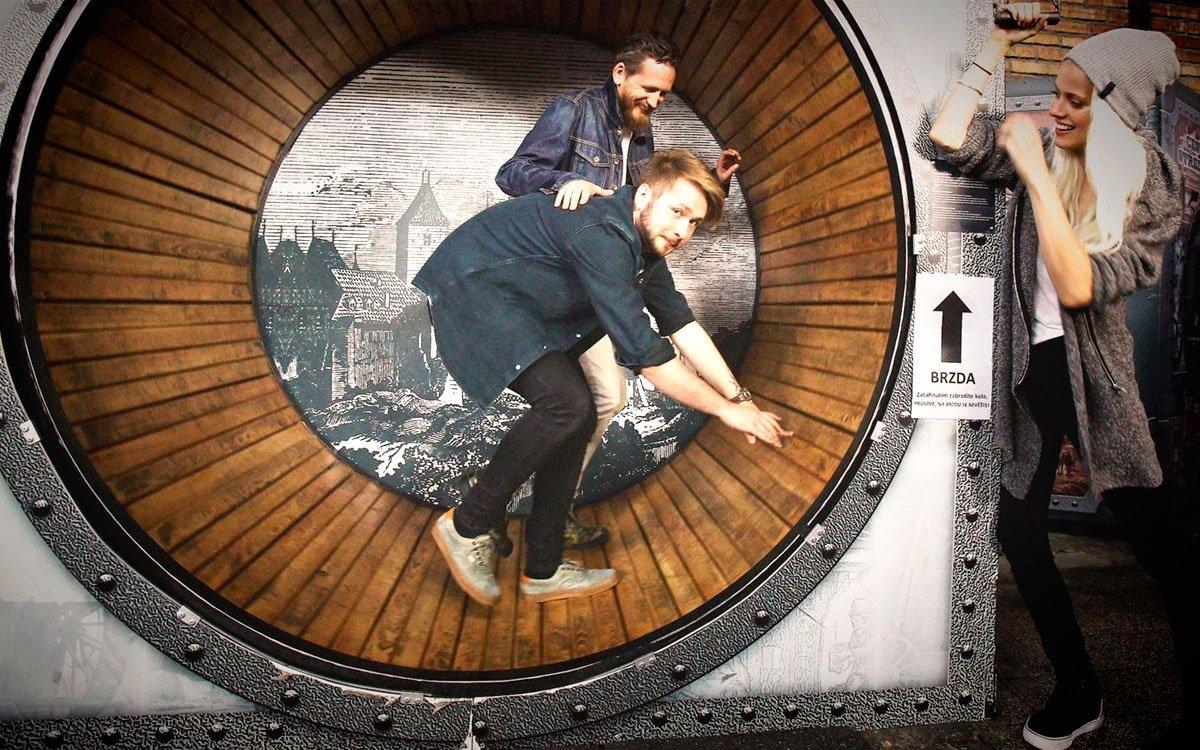 Celá expozice je rozdělena podle knih Julese Vernea, jehož datum narození (1828) je identické s rokem zrodu vítkovických závodů. | © Tomáš Třeštík