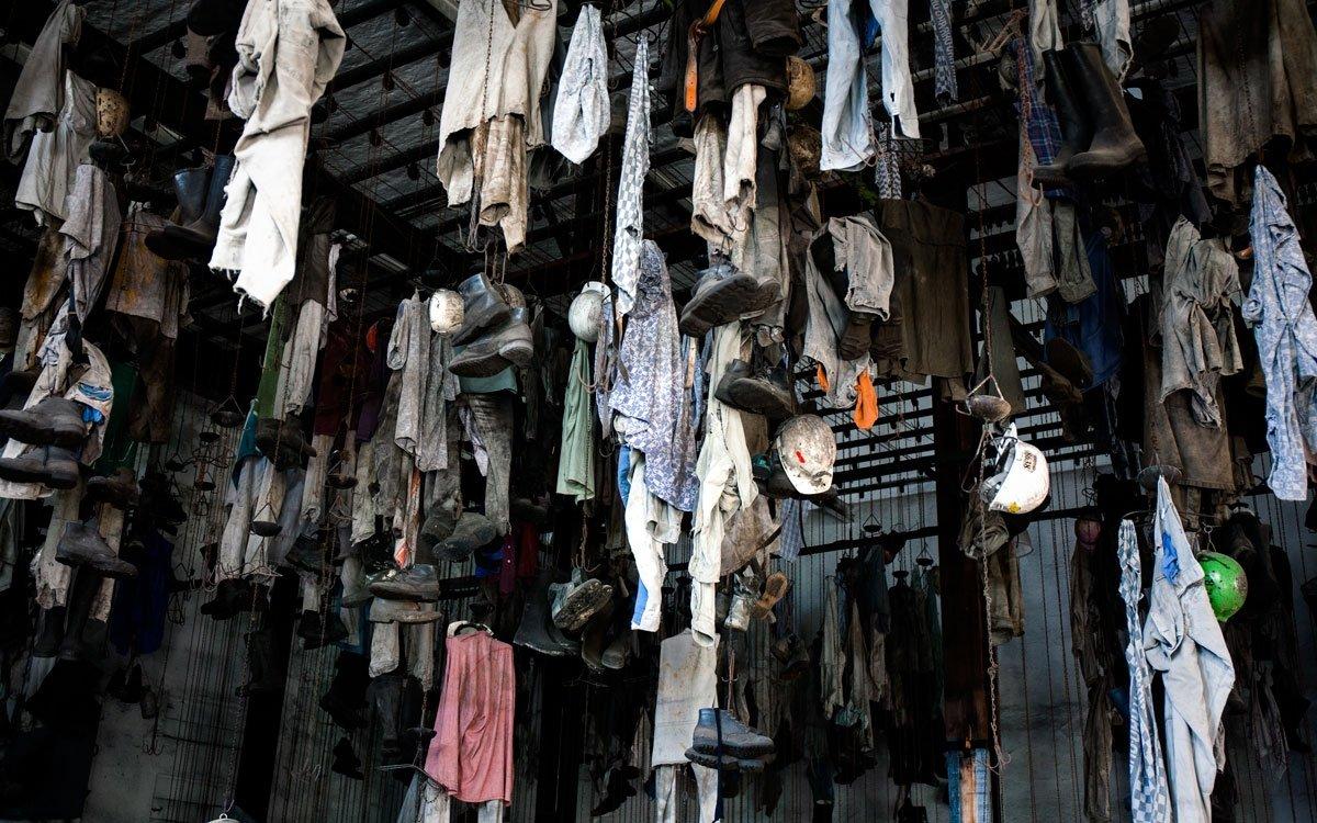 Tradiční řetízková šatna je zajímavým místem, kde máte pocit, že se zastavil čas. | © Yan Plíhal, AnFas