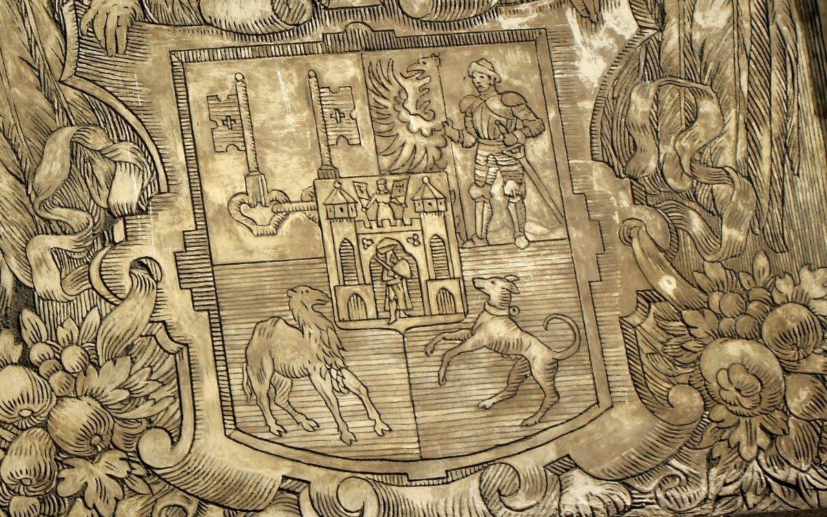 Erb v městském znaku Plzně představuje věrnost císaři, který tu se svým dvorem pobýval od října roku 1599. | © sius