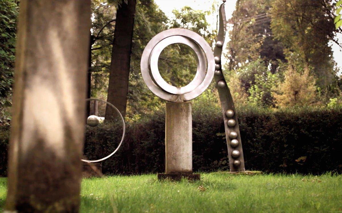 Nejen samotná galerie, ale i zahrada kolem ní je rájem umění a malebným místem k relaxaci. | z archivu seriálu Lovci zážitků