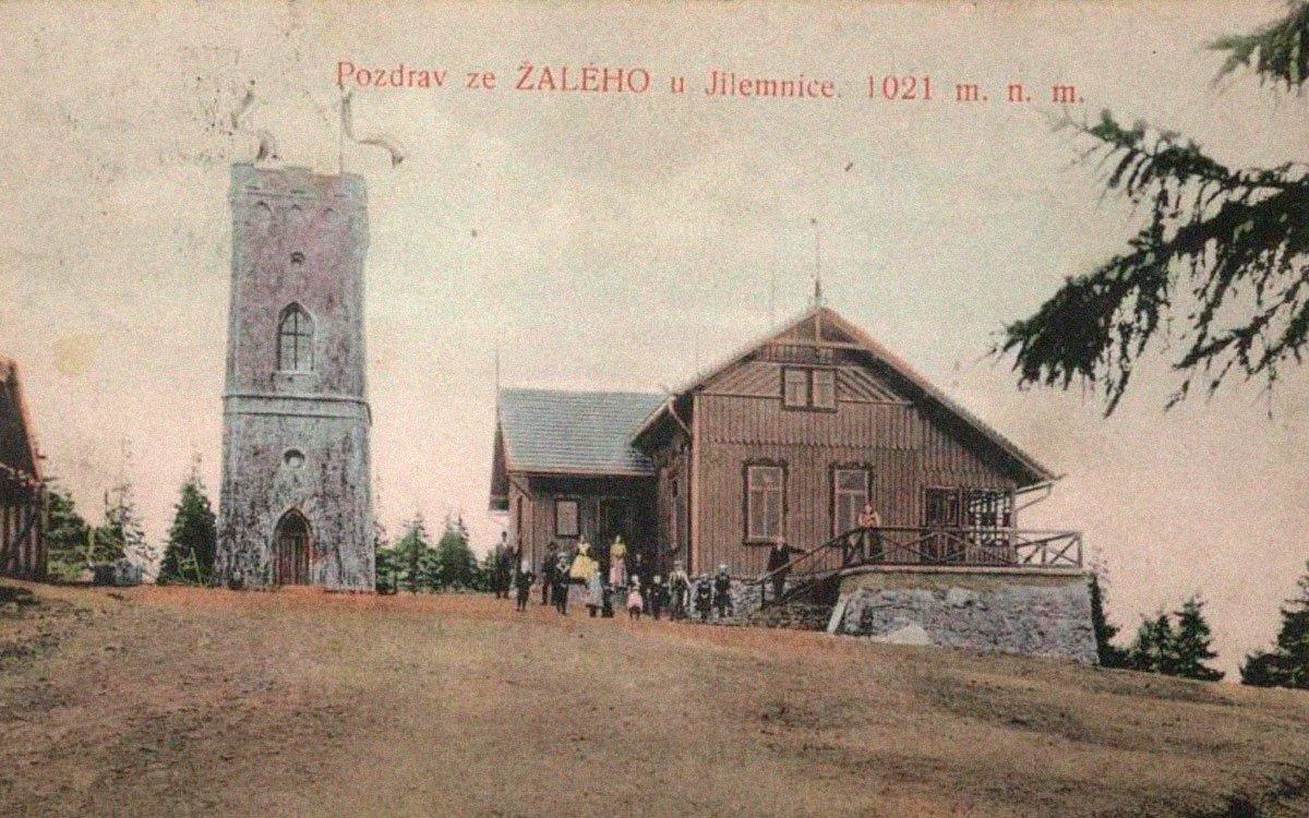 Kamenná rozhledna na vrchu Žalý stojí již od roku 1892. Je otevřená po celý rok a velice populární jsou vánoční a silvestrovské výpravy. Je natolik oblíbená, že se tu dokonce konají i svatby.