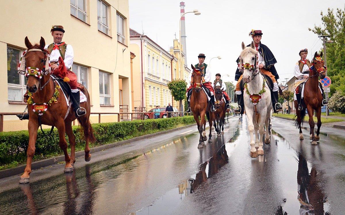 Na počest krále Ječmínka probíhají v Chropyni pravidelně Hanácké slavnosti. | © Tomáš Rozkošný, archiv města Chropyně