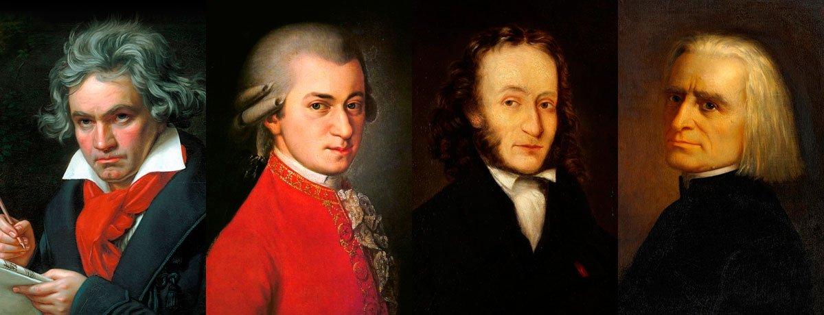 Co mají společného takoví velikáni klasického hudby jako Beethoven, Mozart, Paganini a Liszt? Pobývali v zámku v Hradci nad Moravicí.