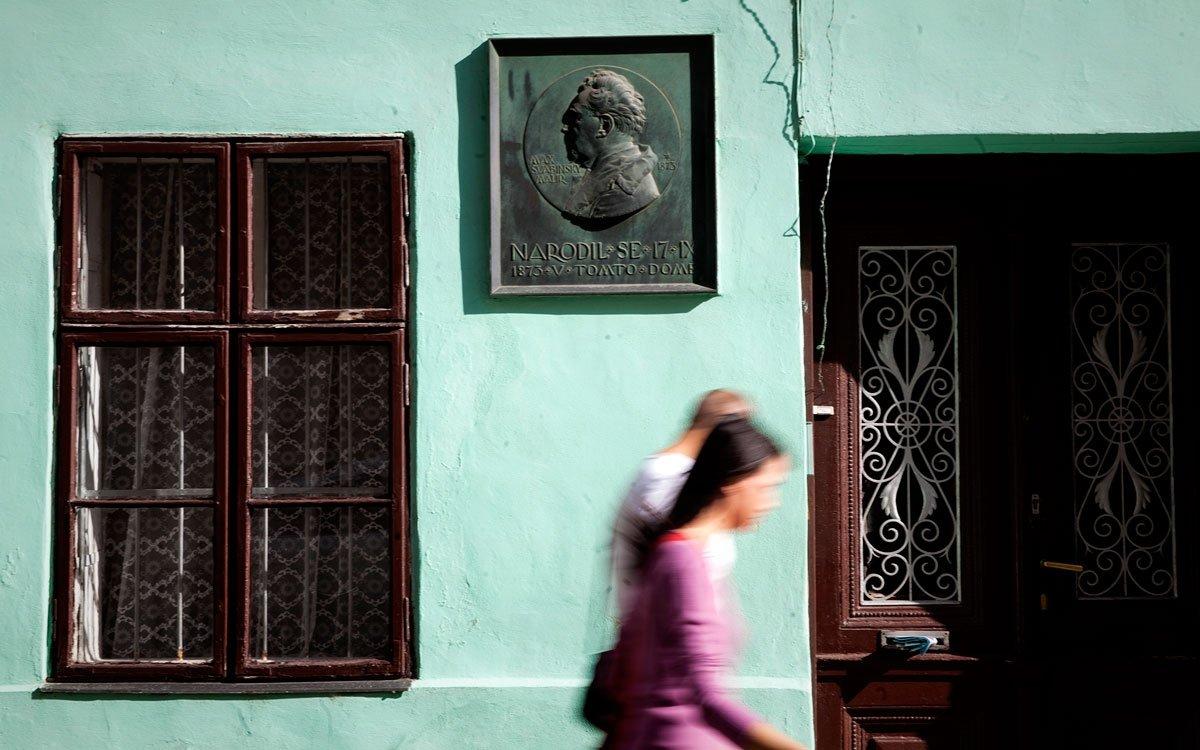 Dne 17.září 1873 se v kroměřížské Jánské ulici v domě číslo 15 jako nemanželský syn Marii Švabinské narodil český malíř a rytec Max Švabinský. | © Eva Kořínková