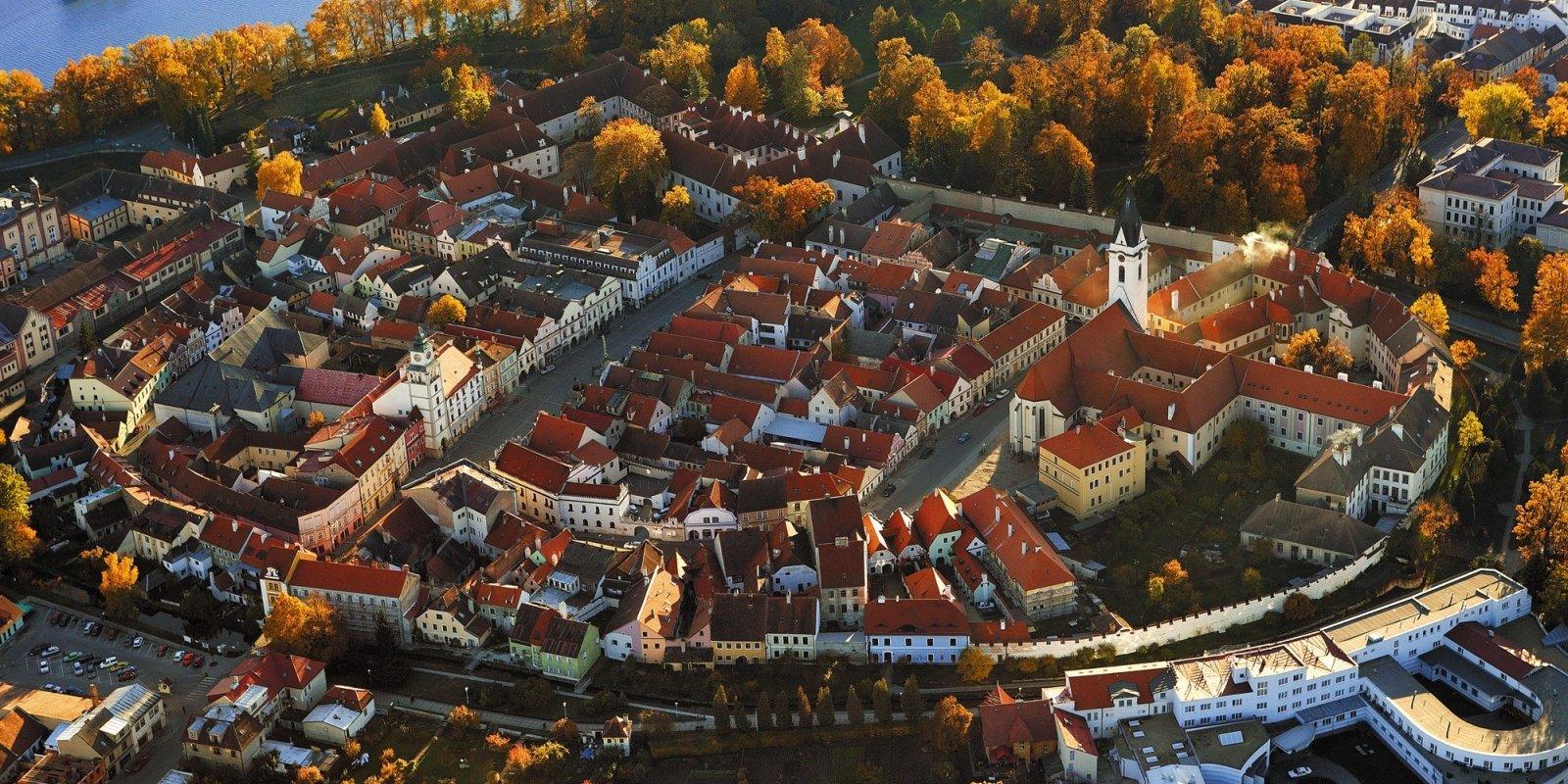 Letecký pohled na Třeboň  © Libor Sváček, archiv CzechTourism