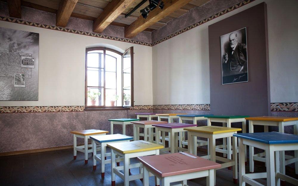 V roce 2006 u příležitosti 150 let od narození Sigmunda Freuda byl rodný dům zpřístupněn veřejnosti. | © Yan Plíhal, AnFas