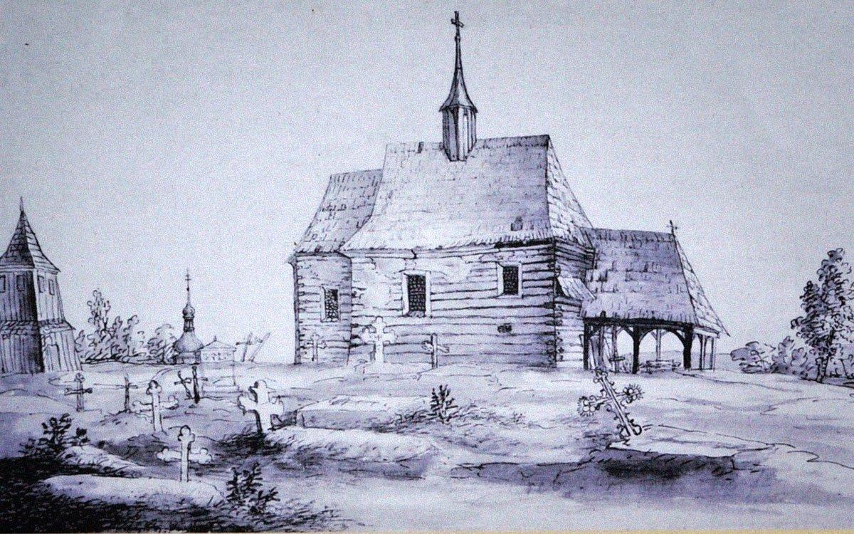 Na vrcholku Orebu stávala kaple, která byla pravděpodobně zničena husitskými orebity, když zde na velkém shromáždění roku 1419 vytvořili pod vedením hradeckého kněze Ambrože bojovou jednotku bratrstvo orebské. Zhruba o sto let později byl na Orebu vystavěn dřevěný kostelík, který v roce 1835 nahradil barokní kostel Božího těla. | © René Volfík