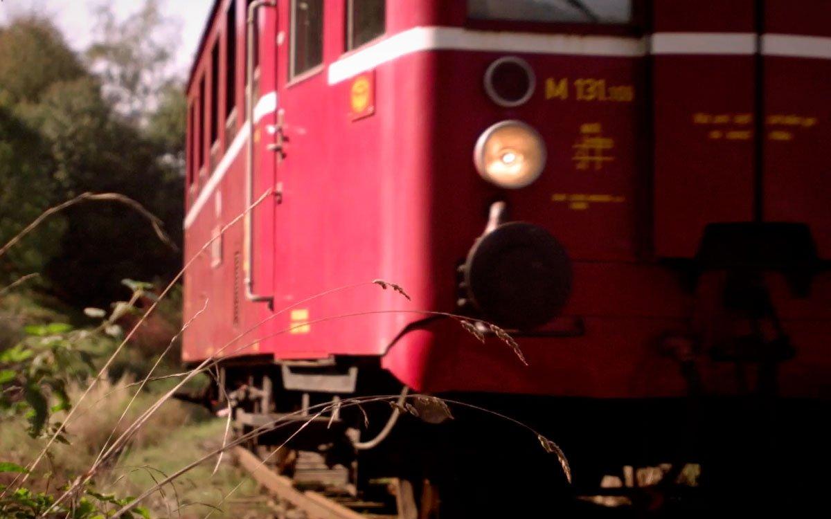 Po patnácti letech obnovila železniční dopravu v Zubrnici parta nadšenců z občanského sdružení Zubrnická museální železnice a přes Velké Březno můžete dojet až do Ústí nad Labem. | archiv seriálu Lovci zážitků