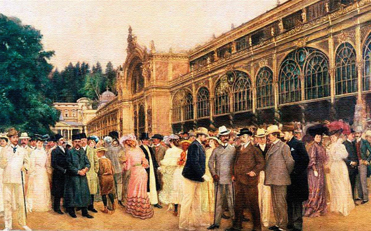 Britský panovník při svých pobytech v lázních udával tón společenskému životu. Davy lidí ho sledovaly na každém jeho kroku, jeho oblečení bylo tématem živých debat mezi lázeňskými hosty. S jeho smrtí v roce 1910 a pomalým nástupem první světové války skončila také zlatá éra lázeňského života.