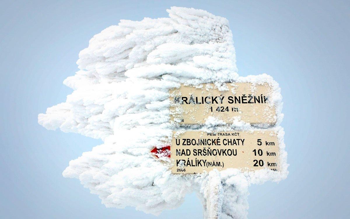 Běžecké trasy v okolí Králického Sněžníku nabízejí jedny z nejkrásnějších výhledů, jaké můžete v Česku při putování bílou stopou najít. Většinou na vás sice čeká náročné stoupání a nečekané výkyvy počasí jsou na denním pořádku, odměnou vám ale bude neopakovatelný zážitek.   © Dreamstime