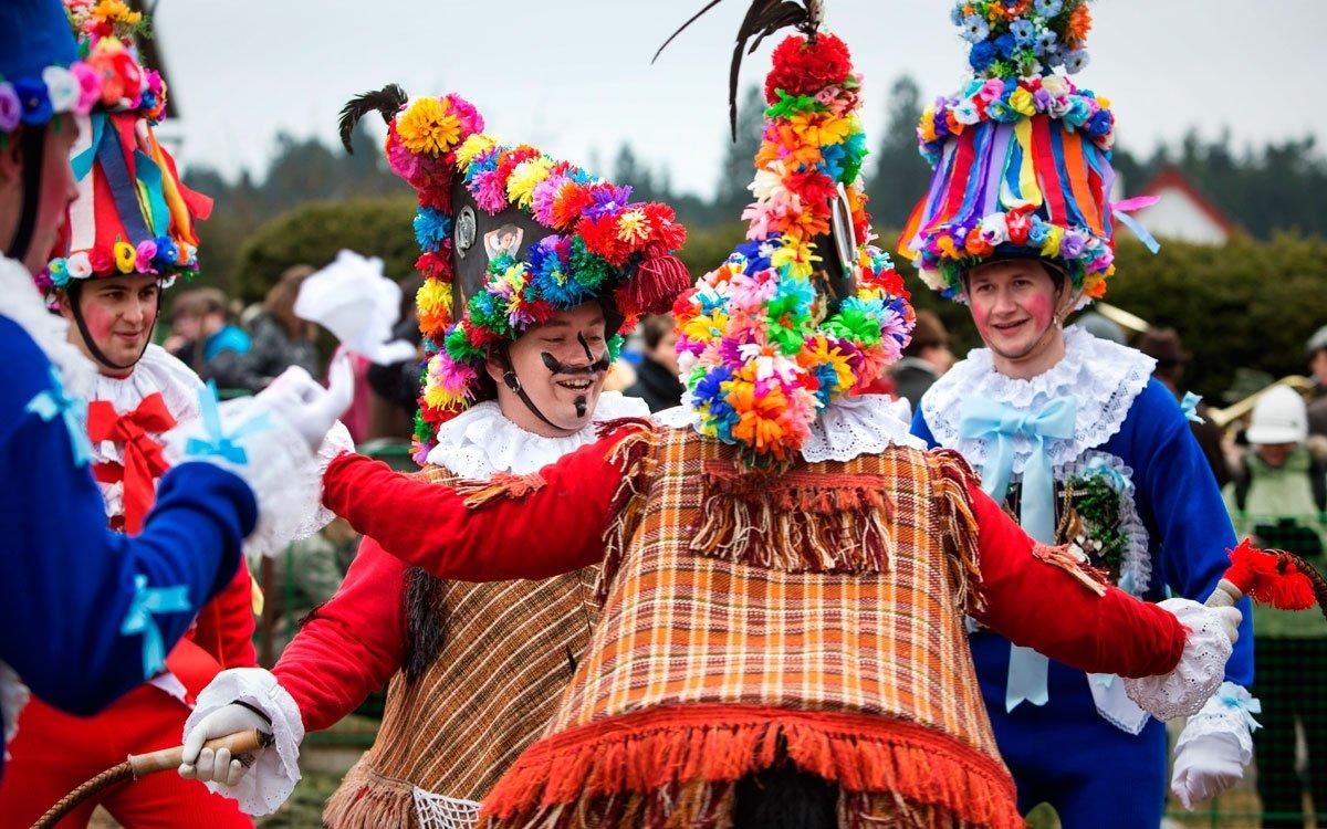 Autentičtější podobu slavností nicméně potkáte spíše v okolních vesnicích – Vortové, Studnici, Hamrech, Včelákově či Blatně. | © Lukáš Žentel, archiv CzechTourism