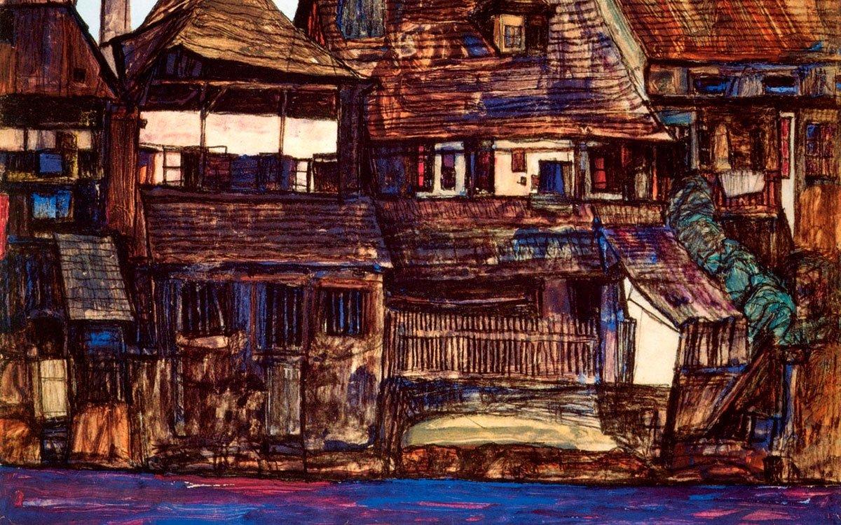 Kolem roku 1911 zažíval Egon Schiele v Českém Krumlově období plné štěstí a bouřlivé inspirace, než ho pohoršení měšťané z města vyhostili. V současnosti si můžete jeho pobyt ve městě připomenout v domku na břehu Vltavy, kde pobýval.