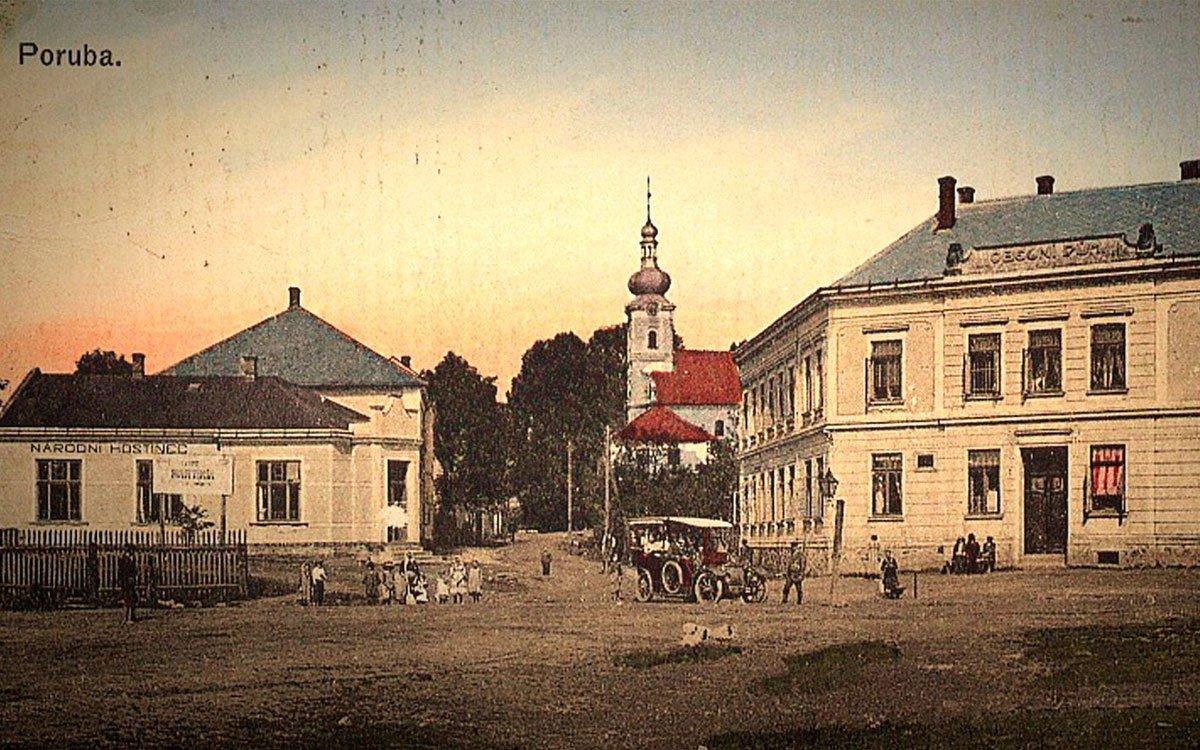 Kostel sv. Mikuláše, druhý nejstarší v Ostravě, stojí v Porubě dodnes. Jeho okolí se však dramaticky proměnilo.