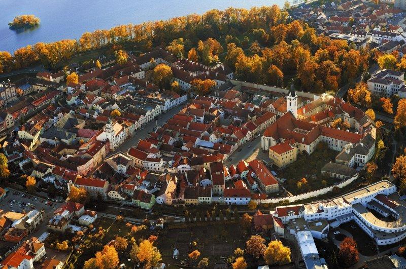 Třeboň, letecký pohled © Libor Sváček, archiv CzechTourism