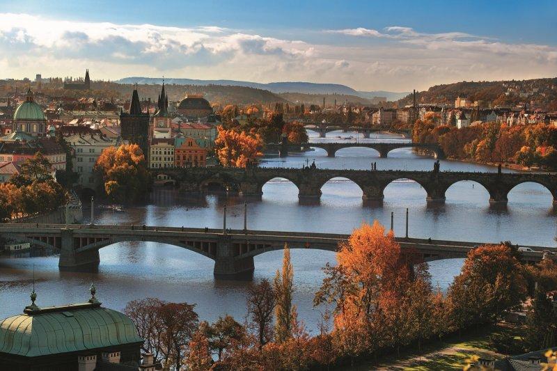Pražské mosty na Novém městě