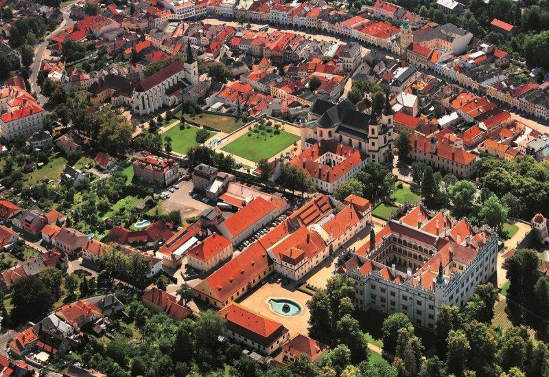 letecký pohled na Litomyšl © Libor Sváček, archiv CzechTourism