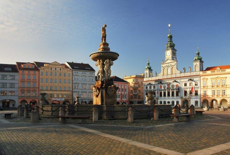 České Budějovice, Náměstí Přemysla Otakara II. I © Ladislav Renner, archiv CzechTourism
