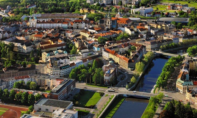 Hradec Králové, letecký pohled © Libor Sváček, archiv CzechTourism