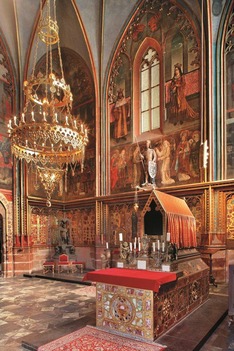 Katedrála sv. Víta, kaple sv. Václava I © Libor Sváček, archiv CzechTourism