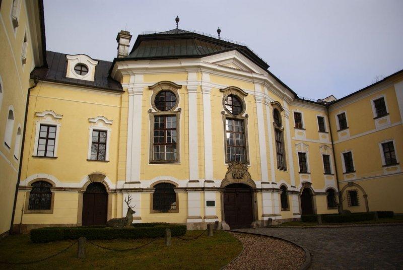Zámek ve Žďáře nad Sázavou © Bjalek Michal, CC BY-SA 3.0