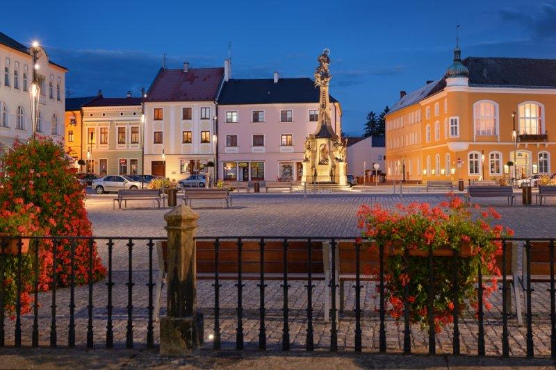Litovel, náměstí © Ladislav Renner, archiv CzechTourism