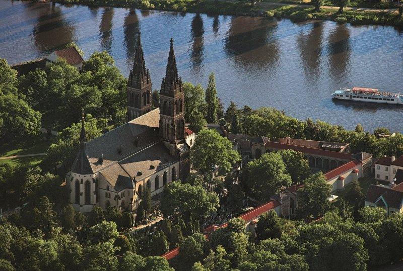 Pohled na Vyšehrad © Libor Sváček, archiv CzechTourism