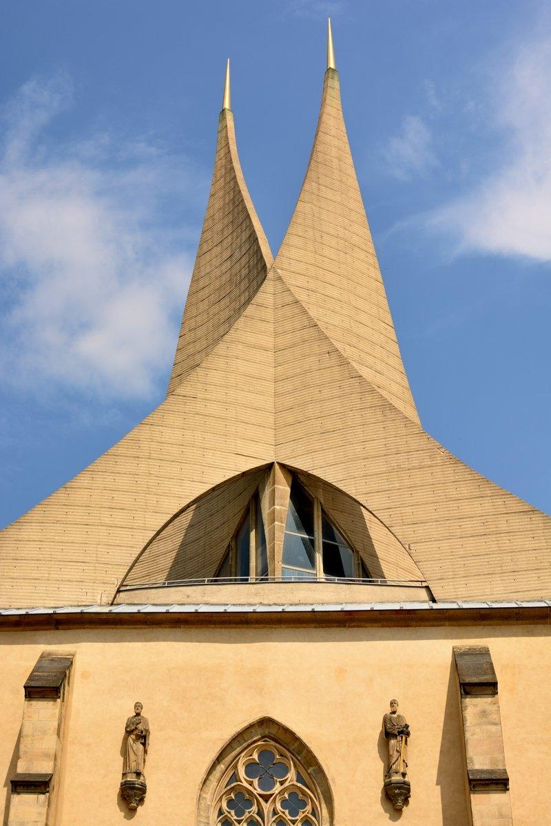Věže Emauzskyého kláštera  © Dagmar Veselková