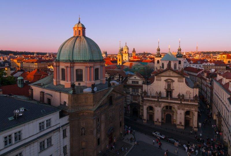 Pohled ze Staroměstské mostecké věže I © Michal Vitásek, archiv CzechTourism