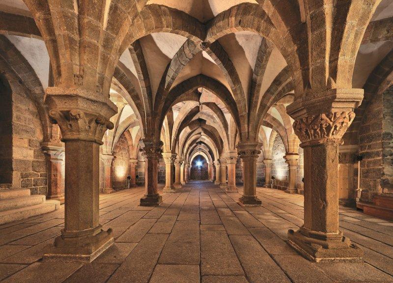 Třebíč, Bazilika sv. Prokopa, krypta I © Libor Sváček, archiv CzechTourism
